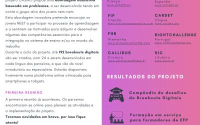 Projeto CASINO: 1ª Newsletter