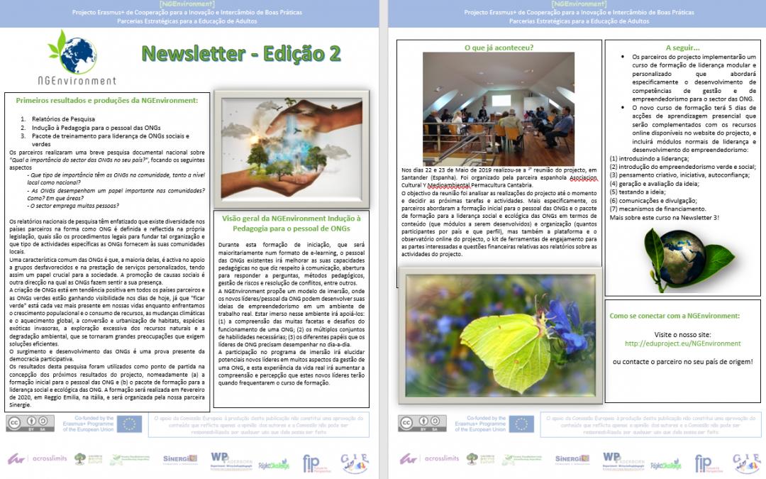 NGEnvironment: Newsletter 3